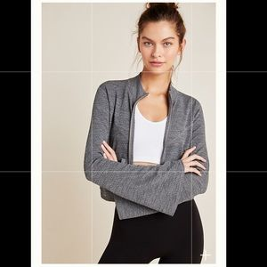 "Free People ""Off the Grid"" jacket in Graphite"